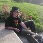 William (skateboarder) en train de chiller