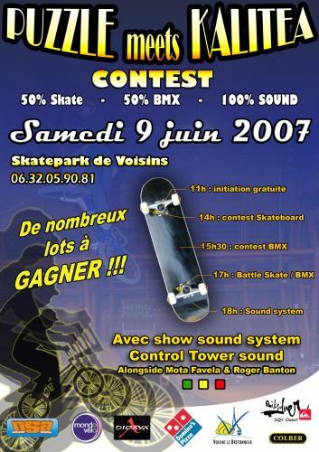 Puzzle meets Kalitea Contest 2007