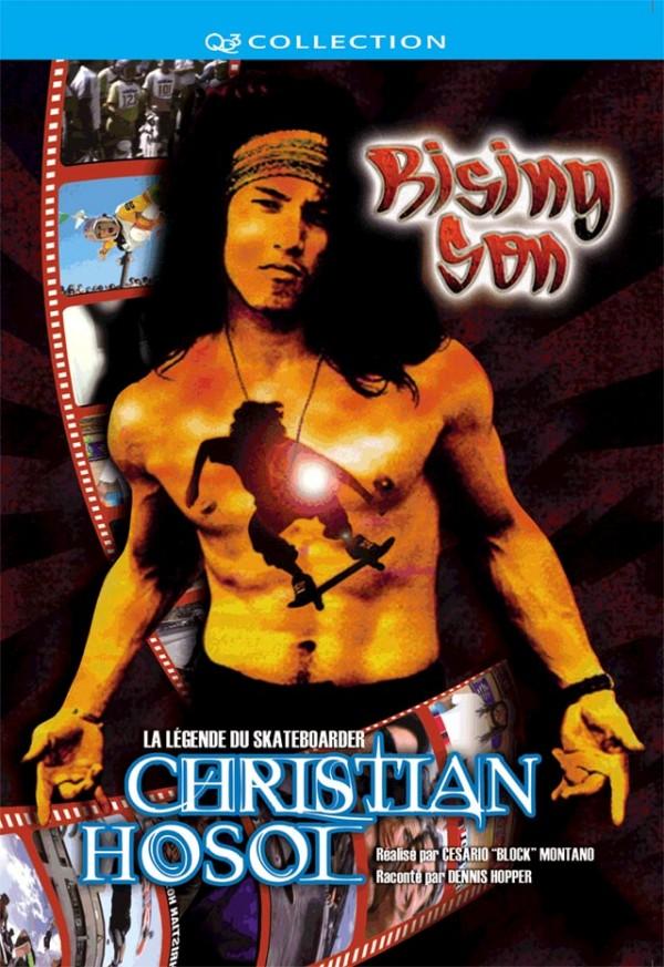 Pochette DVD Rising son : Legend of skateboarder Christian HOSOI