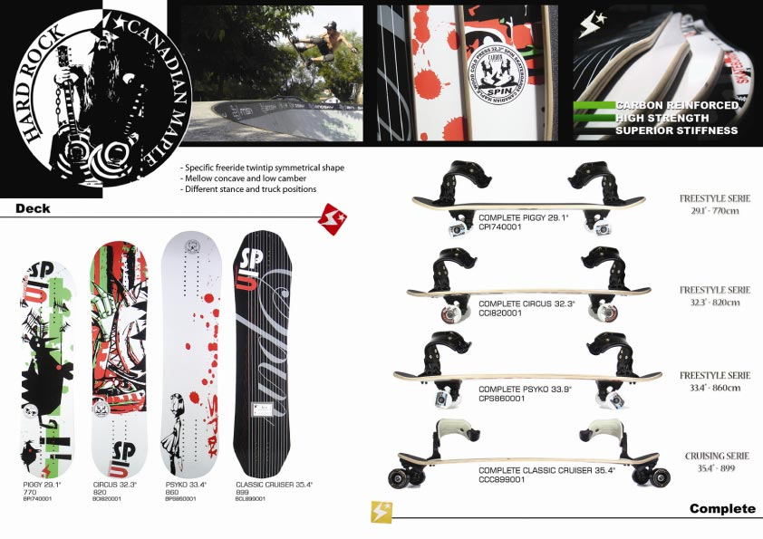 image spin skateboards boards