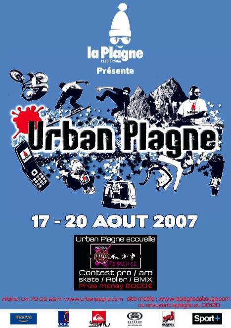 FESTIVAL GLISSE URBAN PLAGNE 2007
