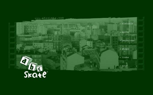 """Fond d'écran Abcskate """"Town"""", Selectionnez la taille de votre écran ci-dessous"""