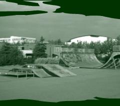 Skatepark de Guyancourt, Yvelines : Mail Pierre Teilhard de Chardin