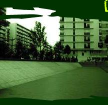 Spot de skate Place d'Italie, Paris
