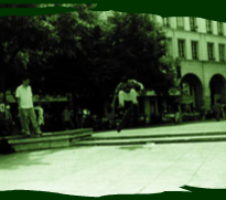 Spot de skate : fontaine des Innocents à Paris