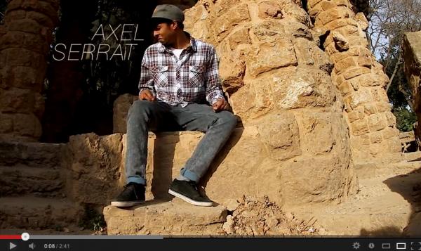 VIDEO SKATE Visite de Barcelone avec Axel Serrat en Longboard 01