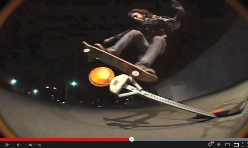 VIDEO SKATE - du street autrement par Richie JACKSON 04