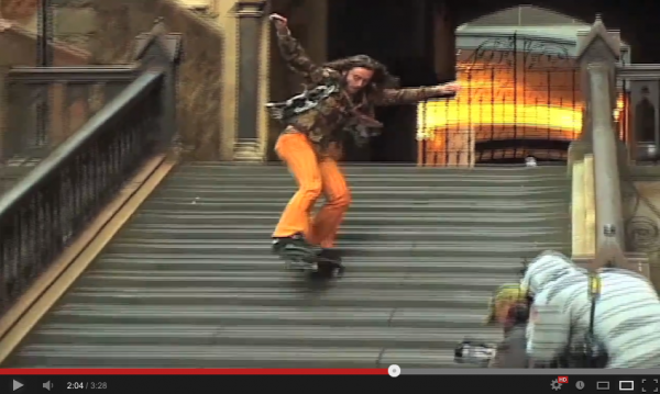 VIDEO SKATE - du street autrement par Richie JACKSON 05