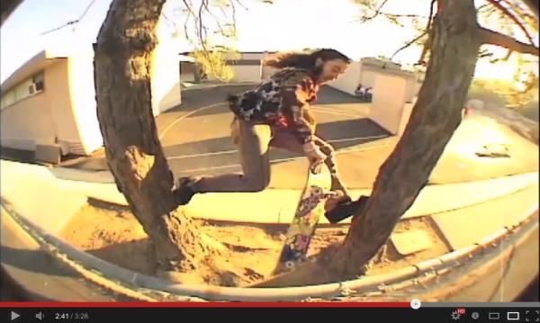 VIDEO SKATE - du street autrement par Richie JACKSON 06