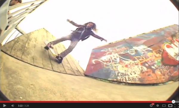 VIDEO SKATE - du street autrement par Richie JACKSON 08