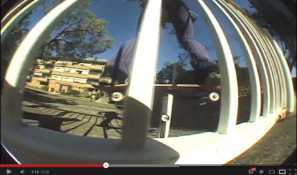"""Figure """"revolution"""" VIDEO SKATE  - du street autrement par Richie JACKSON 09"""