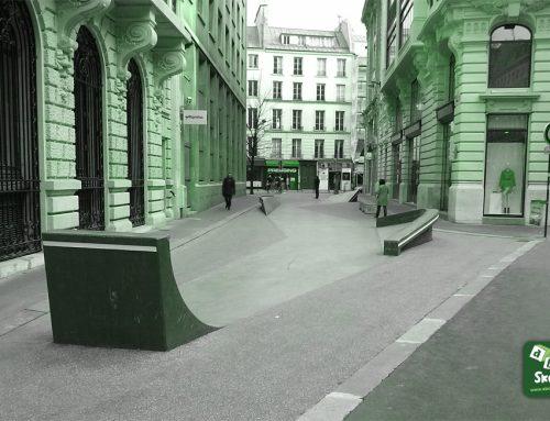 Skatepark, Streetpark Bourse : rue Léon Cladel