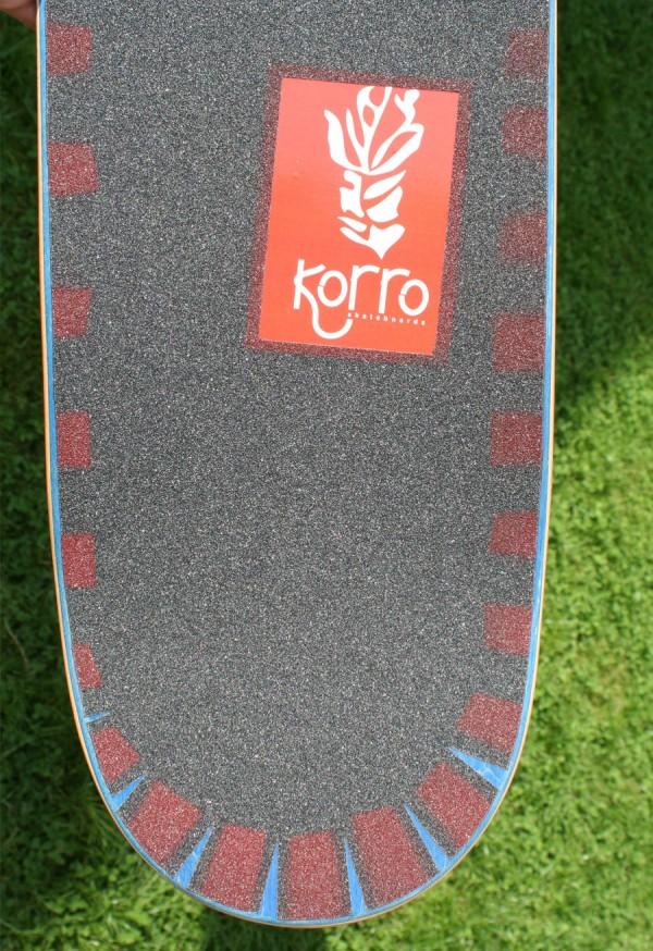 Boards avec grip design Korro skateboards