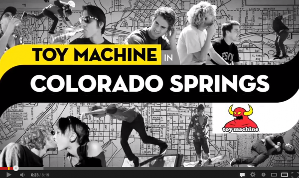 video skate King of the Road -KOTR- 2012 episode 3 Team Toy Machine 02