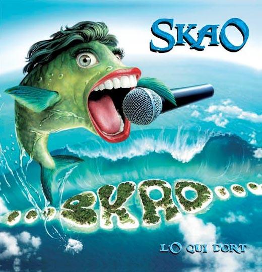 """Groupe de musique SKAO, album """"L'o Qui dort"""""""