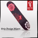 photo grip design korro skateboards Bharri