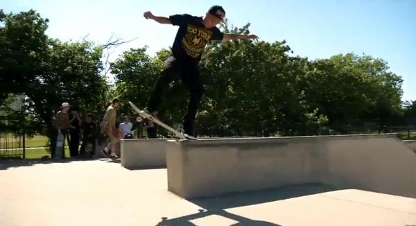 Chaz Ortiz skateboarder