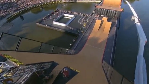 Finale Big AIr X Games Munich 2013