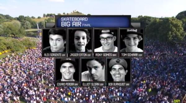 Finale Big AIr X Games Munich 2013