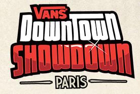 Vans DownTown ShowDown Paris 2013 02