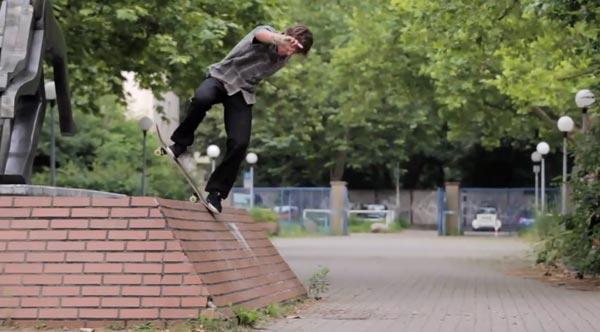 HOLD IT DOWN video Element Skateboards Bluntslide backside
