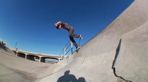 HOLD IT DOWN video Element Skateboards backside nose grind