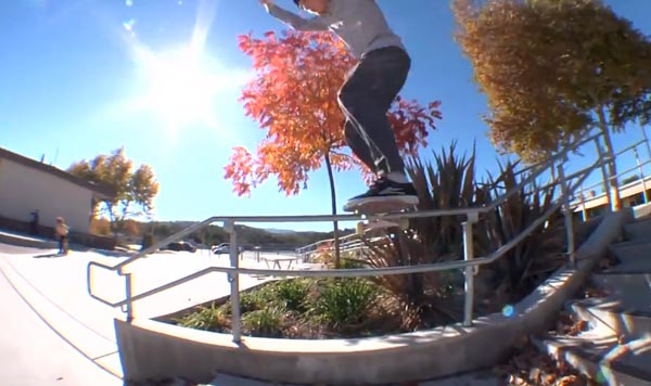 HOLD IT DOWN video Element Skateboards frontside lipslide