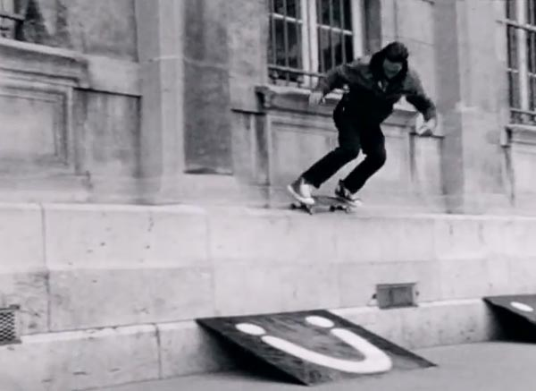 Ttrocadero days par converse skateboarding Five O Backside