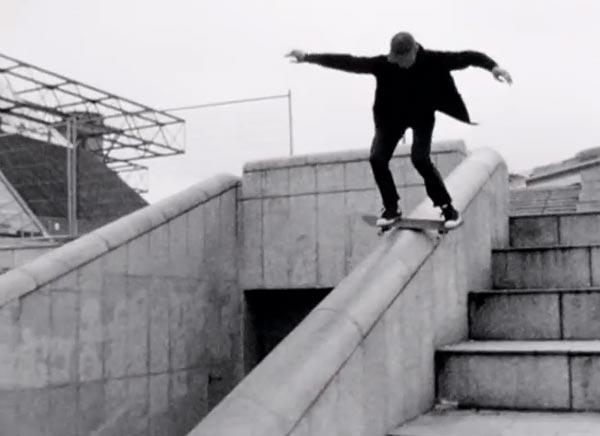 Ttrocadero days par converse skateboarding Lipslide, RockSlide, au spot de skate de Bercy POPB