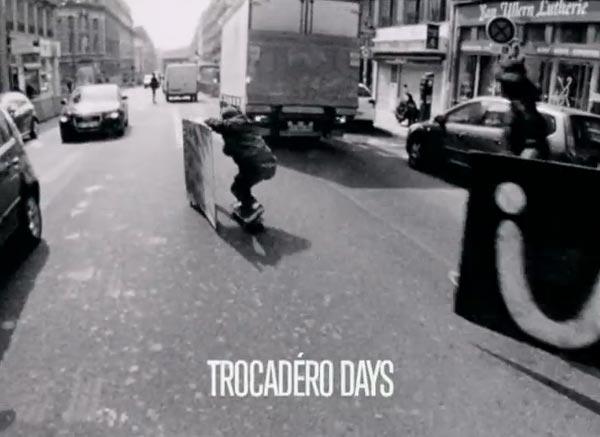 Ttrocadero days par converse skateboarding TITRE