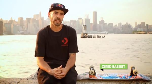 Zered Bassett skateboarder PORTRAIT
