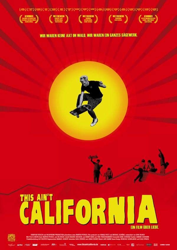 Film skate this ain't california Affiche