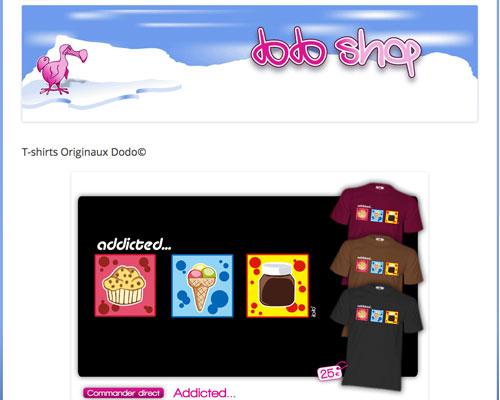 Dodo shop t-shirts originaux skate