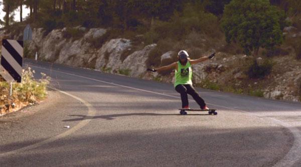 film Open du Longboard Girls Crew Slide