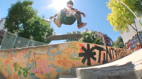"""film skate """"True to this"""" de Volcom Ollie flip"""