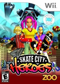 jeu video skate Skate city heroes
