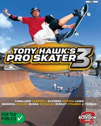 jeu video skate Tony Hawk's Pro Skater 3