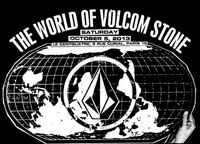 The world Of Volcom Stone affiche