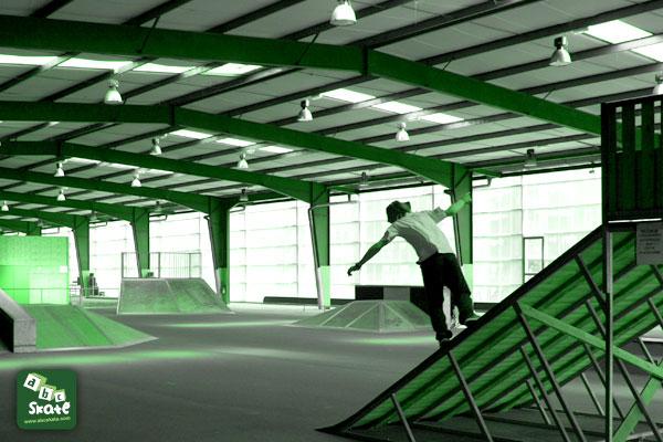 skatepark poitiers 86000 plan incliné 2