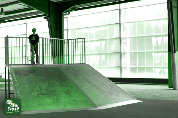 skatepark poitiers 86000 plan incliné 1