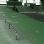 skatepark poitiers 86000 barre à lipslide flatbarre