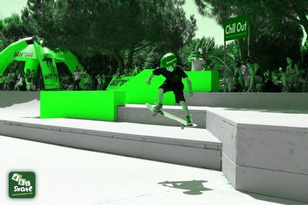 skatepark comte de falicon de Nice 03
