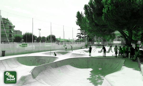 skatepark comte de falicon de Nice 01