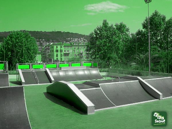 Skatepark Jean Bouin à Nice 03