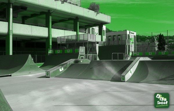 Skatepark Jean Bouin à Nice 02