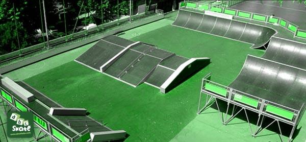Skatepark Jean Bouin à Nice 01
