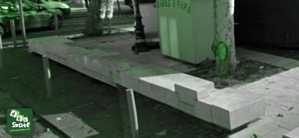 spot de skate place fontaine du temple à Nice 06000 02