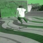spot de skate mairie de creteil 94000 ollie flip varial