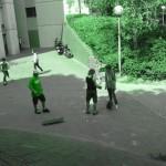 spot de skate mairie de creteil 94000 plan incliné