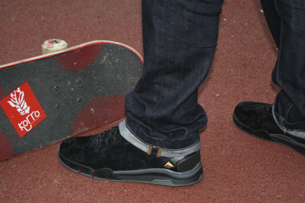 Chaussure Emerica The Romero Laced Black Shoes